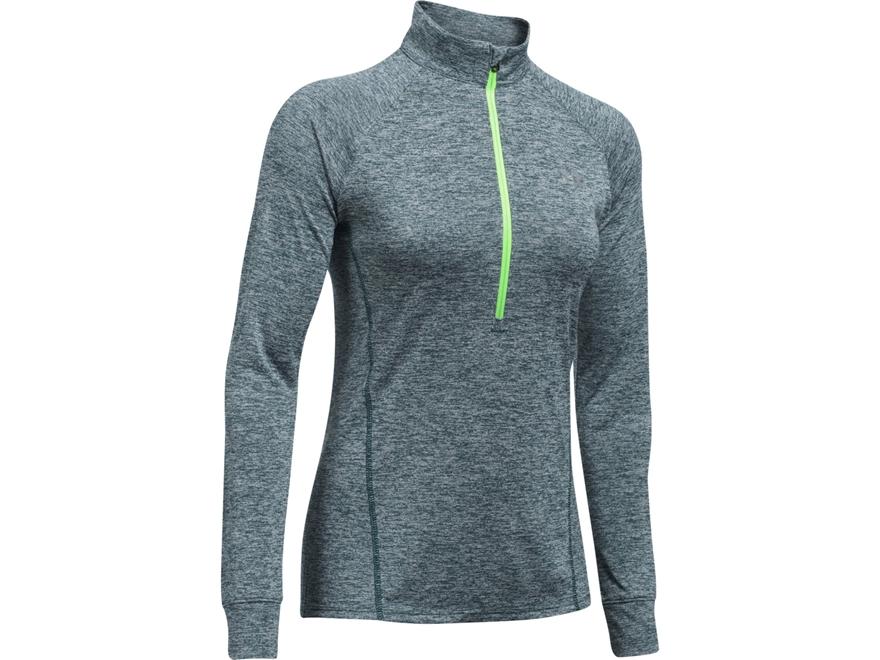 Under Armour Women's UA Tech 1/2 Zip Shirt Long Sleeve