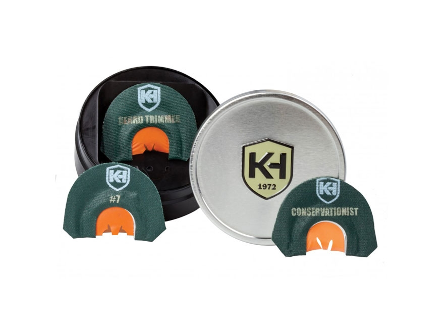Knight & Hale Legend Series Diaphragm Turkey Call Combo