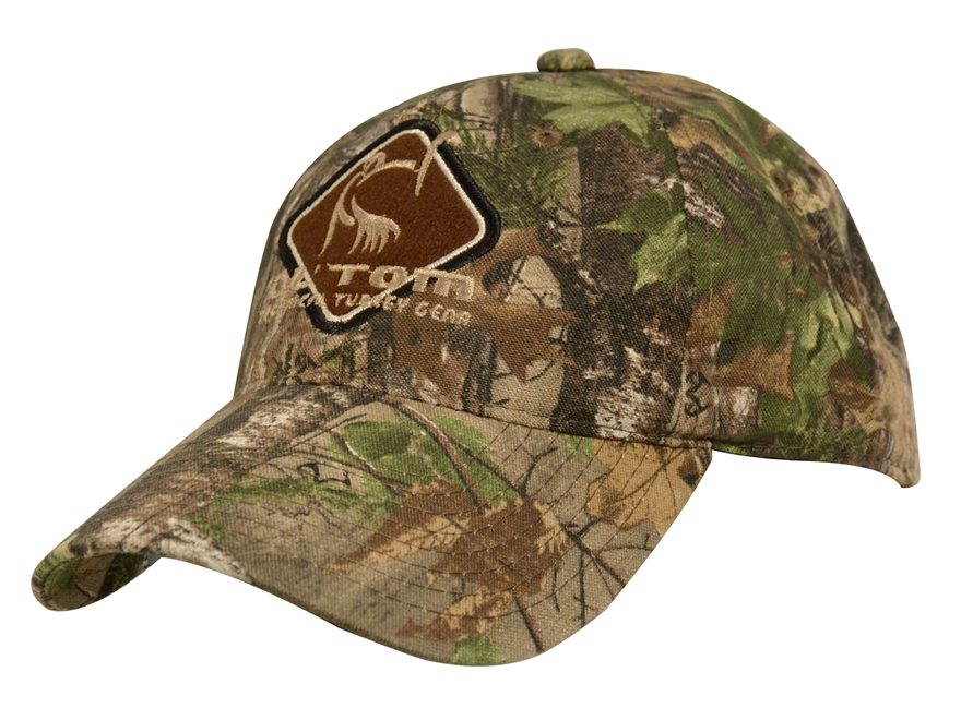 Ol' Tom Diamond Cap Cotton Realtree Xtra Green Camo