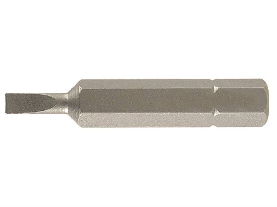 Wheeler Engineering Screwdriver Bit #2 Flat Blade Package of 3