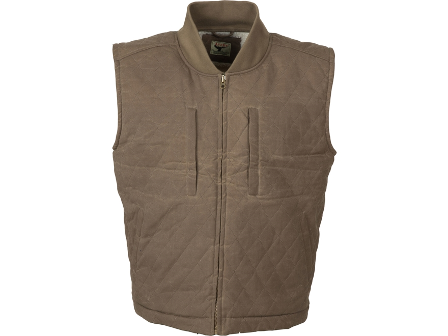 Avery Men's Heritage Collection Field Vest Cotton/Poly Brown