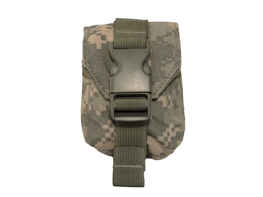 Military Surplus MOLLE II Frag Grenade Pouch Grade 1 ACU Camo