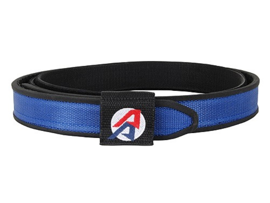 "Double-Alpha Competition Double Belt 1-1/2"" Nylon Blue 34"""