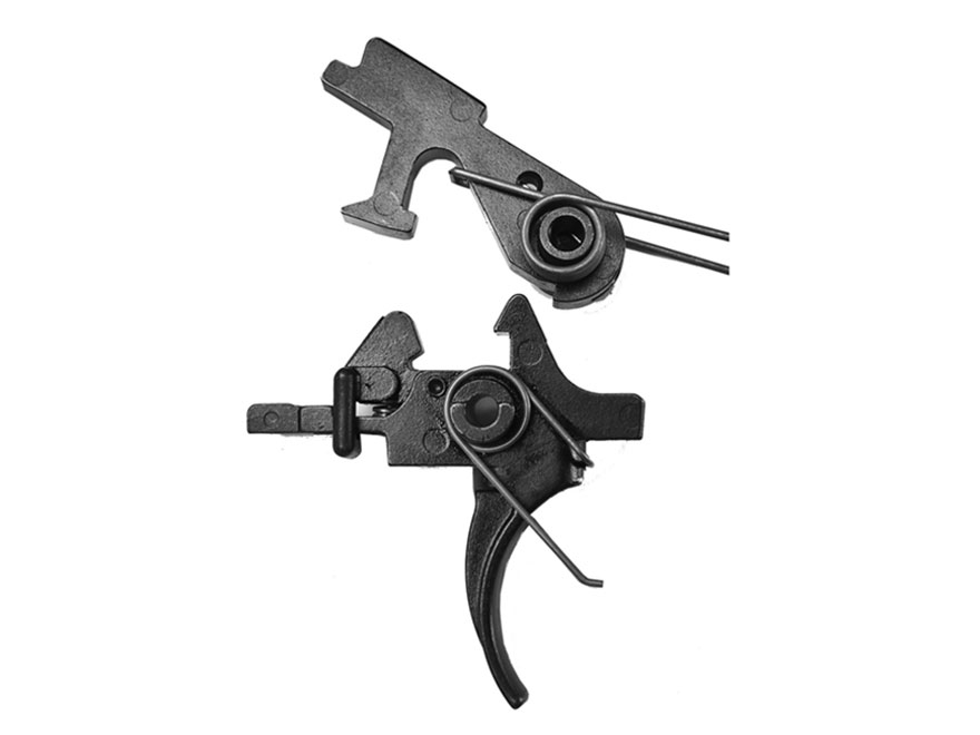 "Del-Ton Two Stage Combat Trigger Assembly AR-15, AR-10, LR-308 Small Pin .154"" Matte"