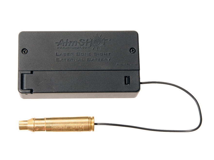 AimShot Modular Laser Bore Sight 223 Remington with Standard and External Batteries