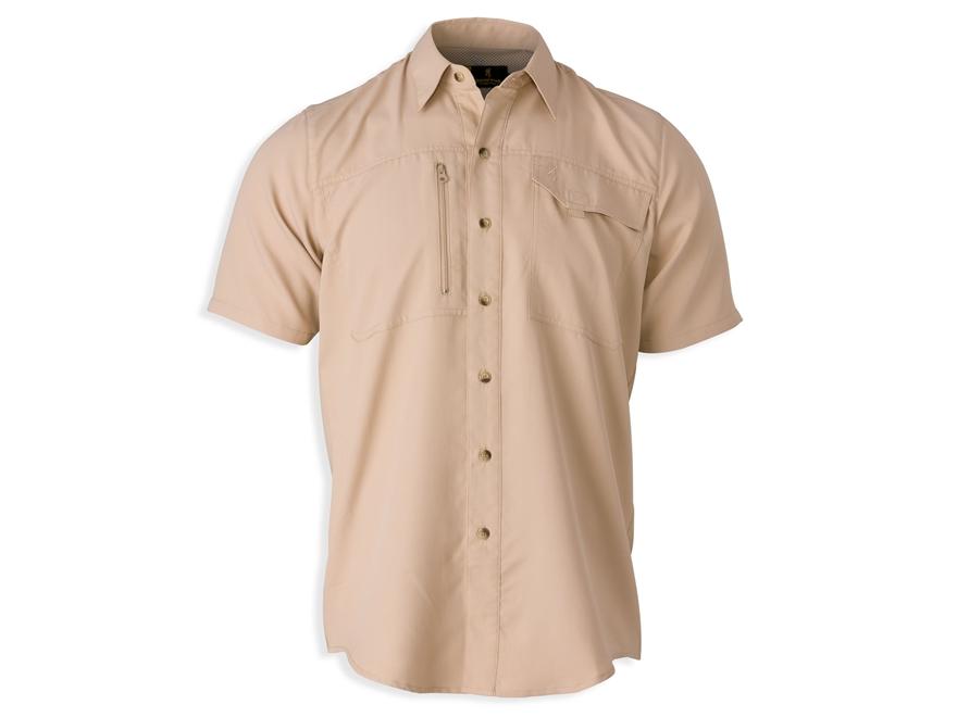 Browning Men's Phenix Shooting Shirt Short Sleeve Polyester