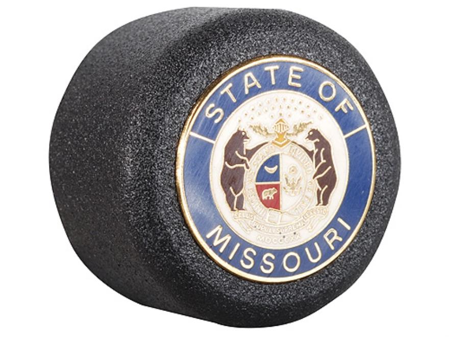 ASP Missouri State Seal Logo Baton Cap State Logo Cap 4140 Steel with Brass Emblem Black