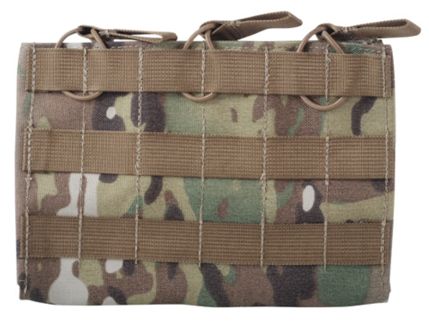 Tactical Tailor MOLLE 5.56 Triple Mag Panel 30 Round Magazine Nylon Multicam Camo