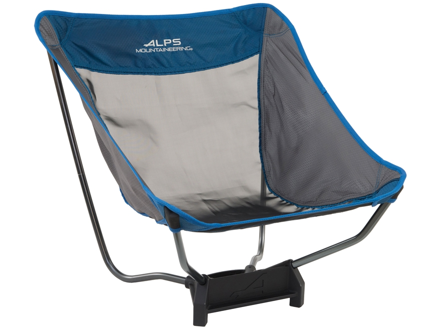 ALPS Mountaineering Ready Lite Low Camp Chair Aluminum Black and Blue