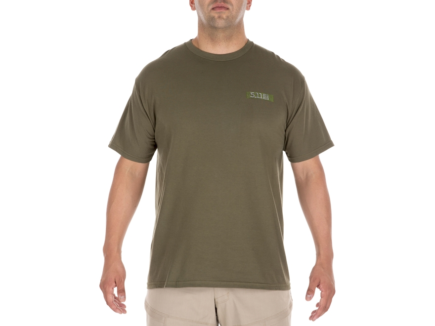 5.11 Men's MOLLE America T-Shirt Short Sleeve Cotton Blend