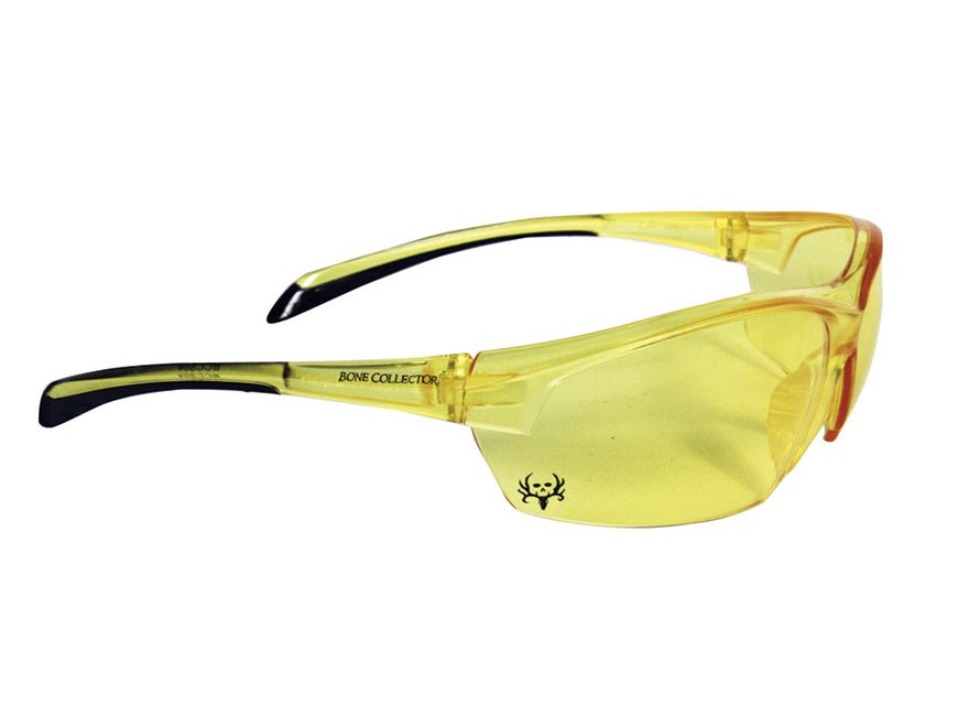 Bone Collector Centershot Shooting Glasses Amber Lens