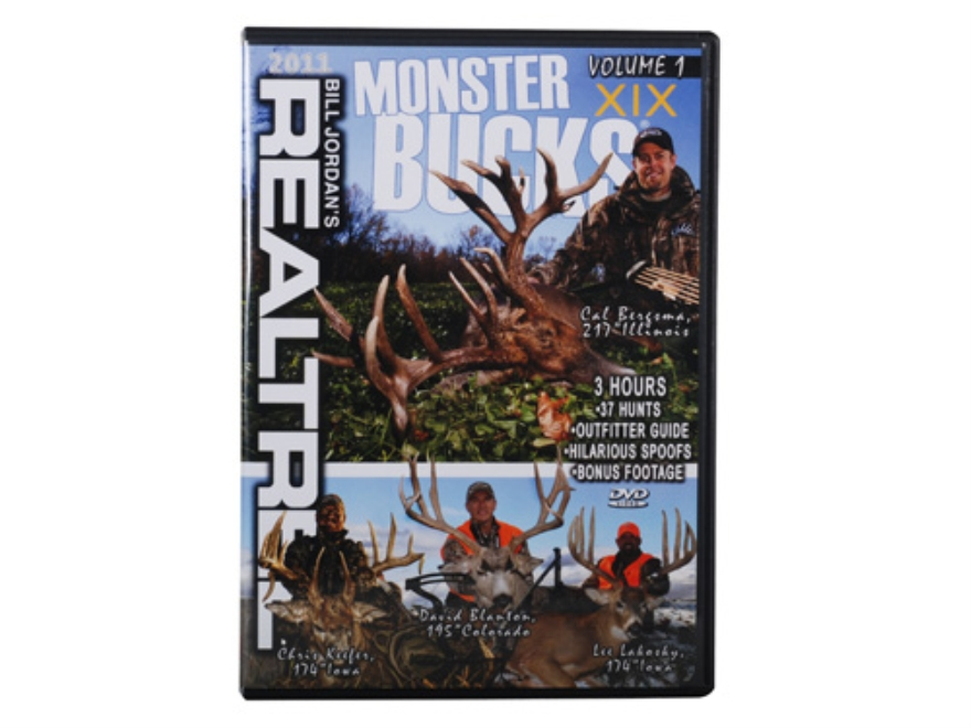 Realtree Monster Bucks 19 Volume 1 Video DVD