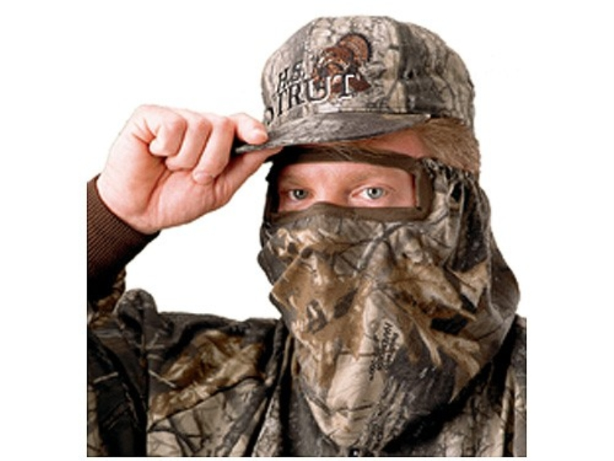 Hunter's Specialties Flex Form 2 Jersey 3/4 Face Mask Cotton Realtree AP Camo