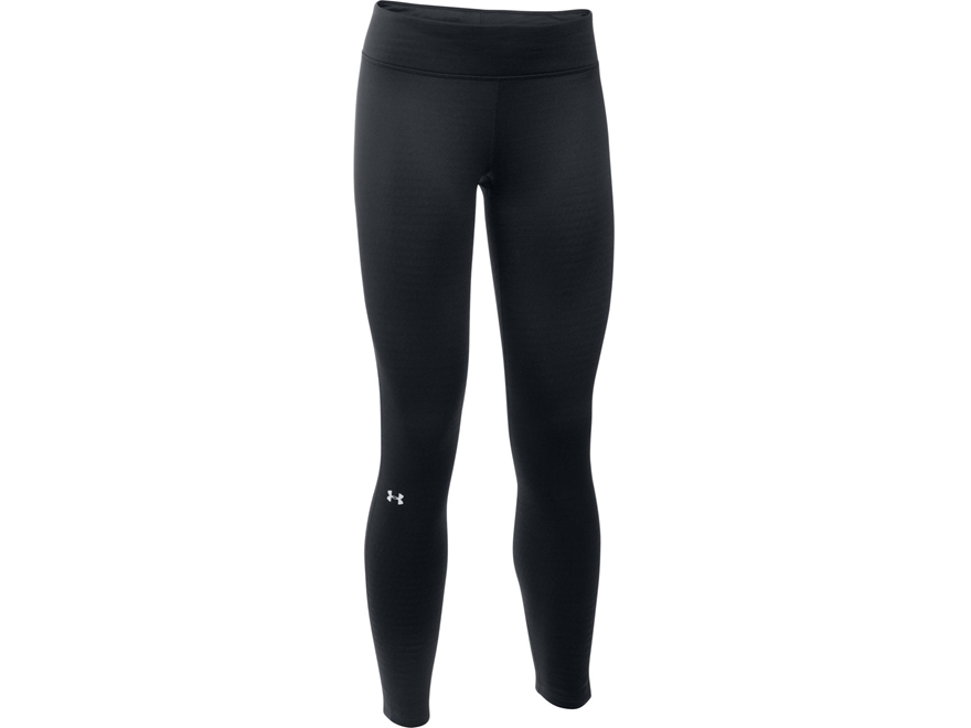 Under Armour Women's UA Base 2.0 Base Layer Pants Polyester Black