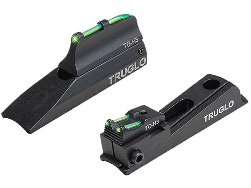 TRUGLO TFO Muzzle Bright Xtreme Muzzleloader Universal Sight Set Tritium / Fiber Optic ...