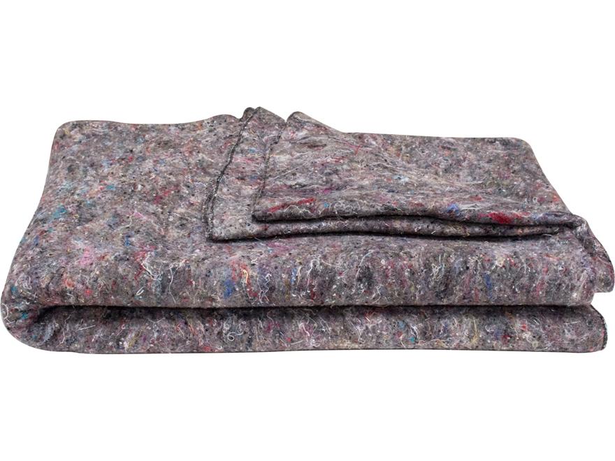 Military Surplus Disaster Blanket Grade 1 Wool Blend Grey