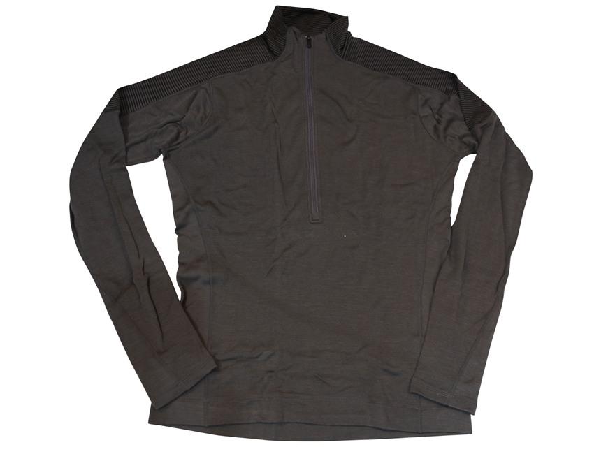 Smartwool Men's NTS Mid 250 Funnel Zip Base Layer Shirt Shirt Long Sleeve Merino Wool G...