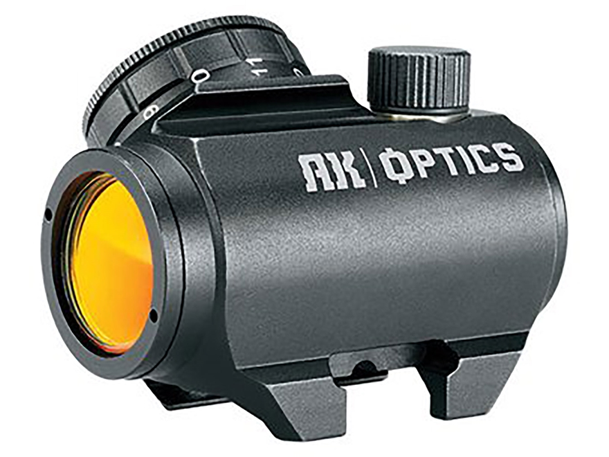 Bushnell AK Optics AK25 Red Dot Sight 1x 25mm 3 MOA Dot Matte