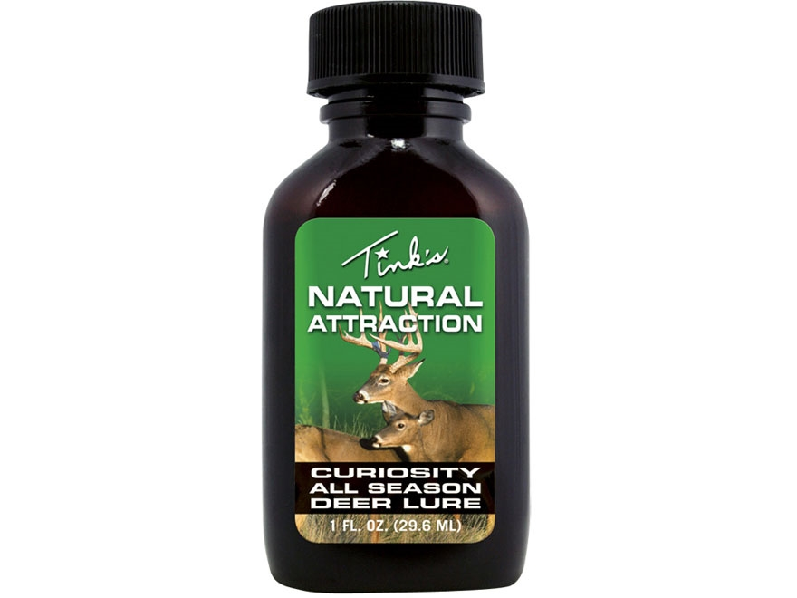Tink's Natural Attraction Curiosity Lure Deer Scent Liquid 1 oz