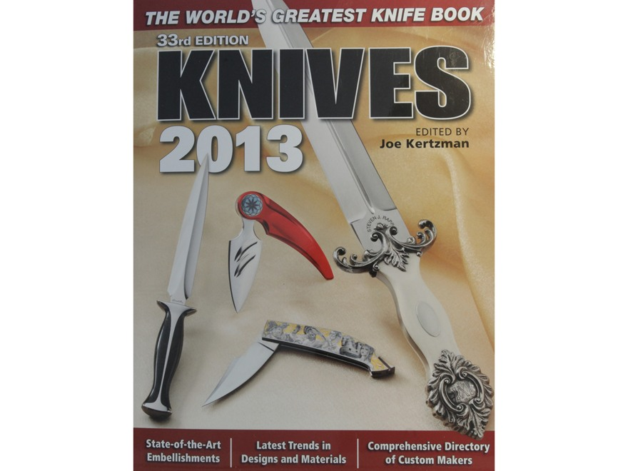 """Knives 2013 33rd Edition"" Book by Joe Kertzman"