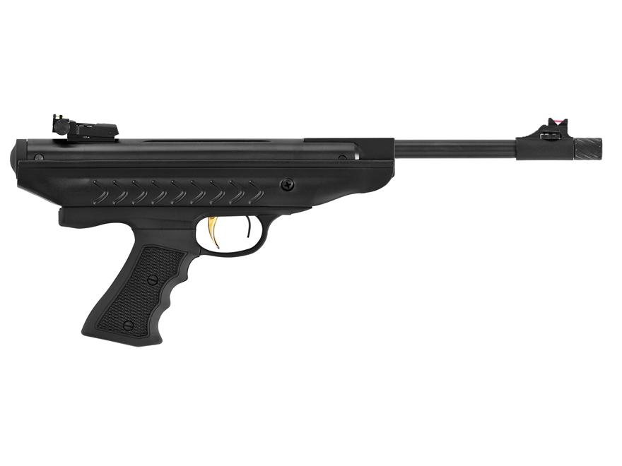 Hatsan Model 25 SuperCharger Vortex Air Pistol 177 Caliber Pellet Black Synthetic Grip ...