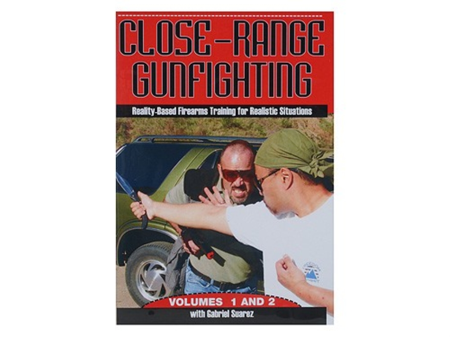 "Suarez International Video ""Close-Range Gunfighting"" DVD with Gabriel Suarez"