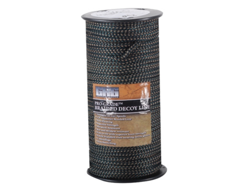 GHG Pro-Grade Braided Decoy Cord 250 Feet