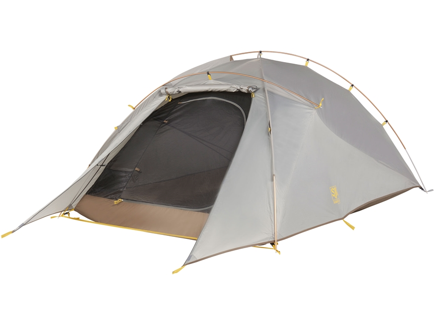 "Slumberjack Nightfall 3 Person Dome Tent 85"" x 68"" x 41.5"" Polyester Gray"