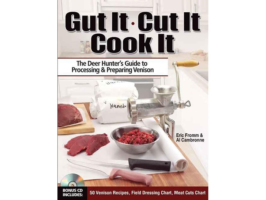 """""""Gut It. Cut It. Cook It."""" Book by Eric Fromm"""