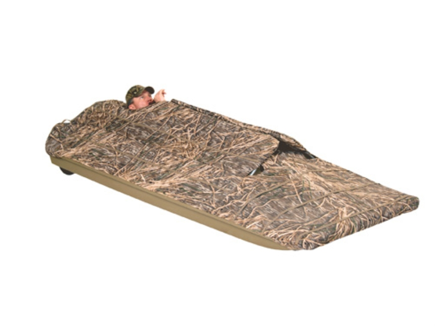 Beavertail Final Attack Boat Blind Realtree Max 4 Camo