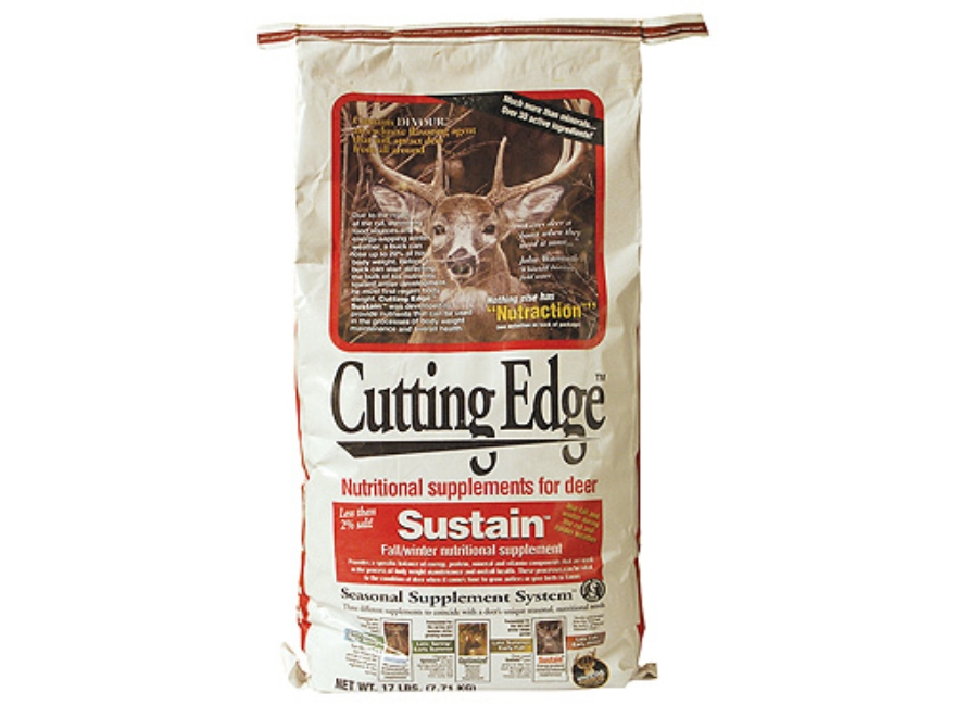 Whitetail Institute Cutting Edge Sustain Deer Supplement Granular 17 lb