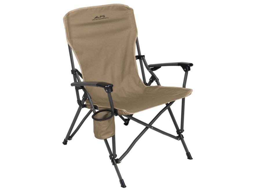 ALPS Mountaineering Leisure Folding Chair Steel and Polyester Khaki