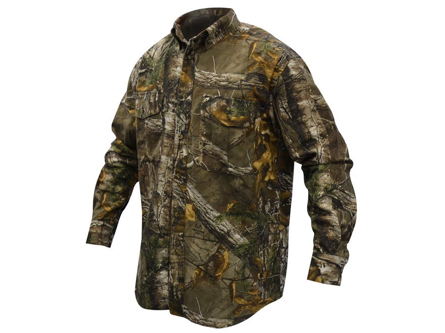 MidwayUSA Men's All Purpose Long Sleeve Field Shirt