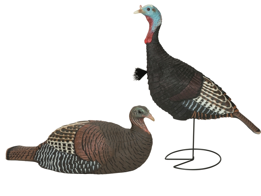 GHG Laydown Hen and Jake Combo Turkey Decoy