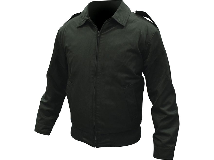 Military Surplus Dutch Flight Jacket with Liner Black