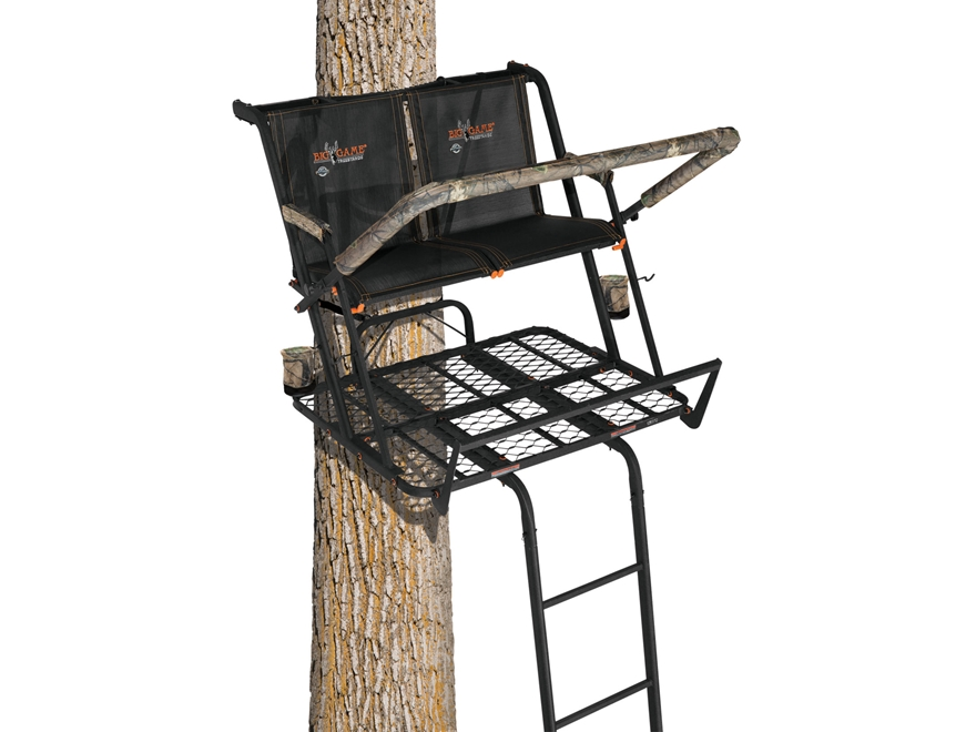 Big Game The Nexus Double Ladder Treestand Steel
