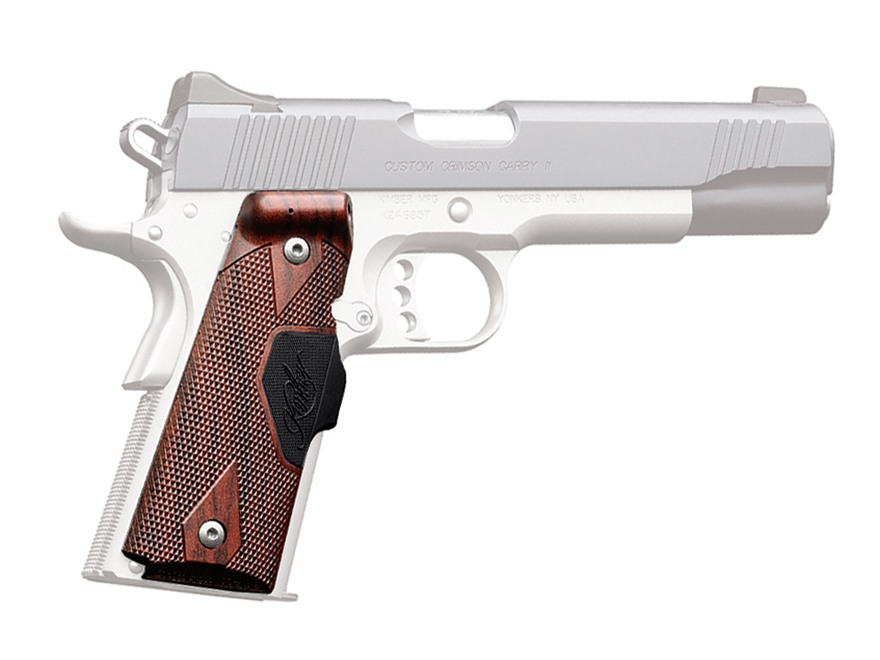 Crimson Trace Lasergrips 1911 Government, Commander Front Activation Polymer Rosewood w...