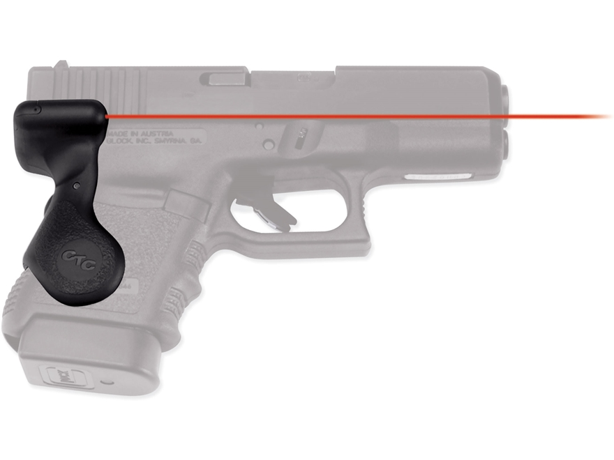 Crimson Trace Lasergrips Glock Gen-3 29, 30 Rear Activation Polymer Black