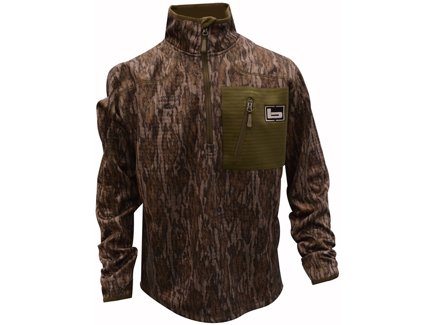 Banded Men's 1/4 Zip Mid Layer Pullover Polyester