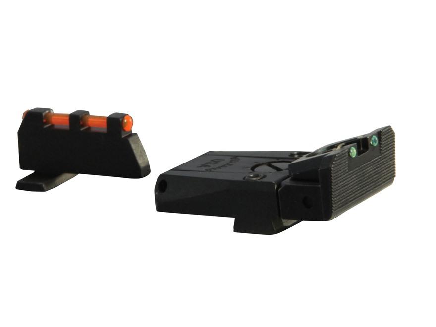 Williams Fire Sight Set Springfield XD, XDM Fiber Optic Red Front, Green Rear