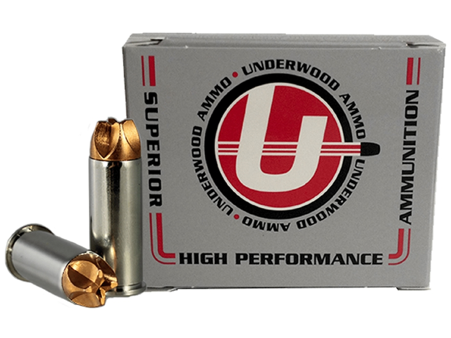 Underwood Xtreme Defender Ammunition 44 Special 125 Grain Lehigh Xtreme Defense Lead-Fr...