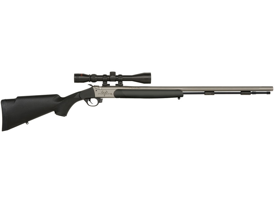 "Traditions Pursuit G4 Muzzleloading Rifle with 3-9x 40mm Duplex Scope 50 Caliber 26"" Ce..."