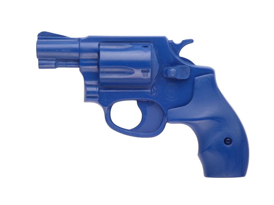 BlueGuns Firearm Simulator S&W J-Frame Polyurethane Blue