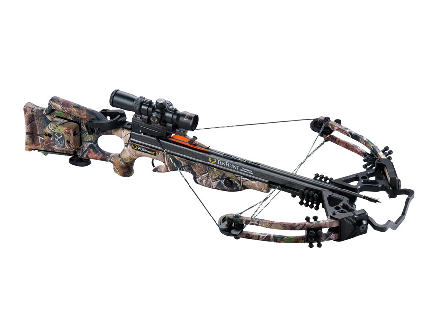 TenPoint Carbon Fusion CLS Crossbow Package with Rangemaster Pro Scope and ACUdraw Real...