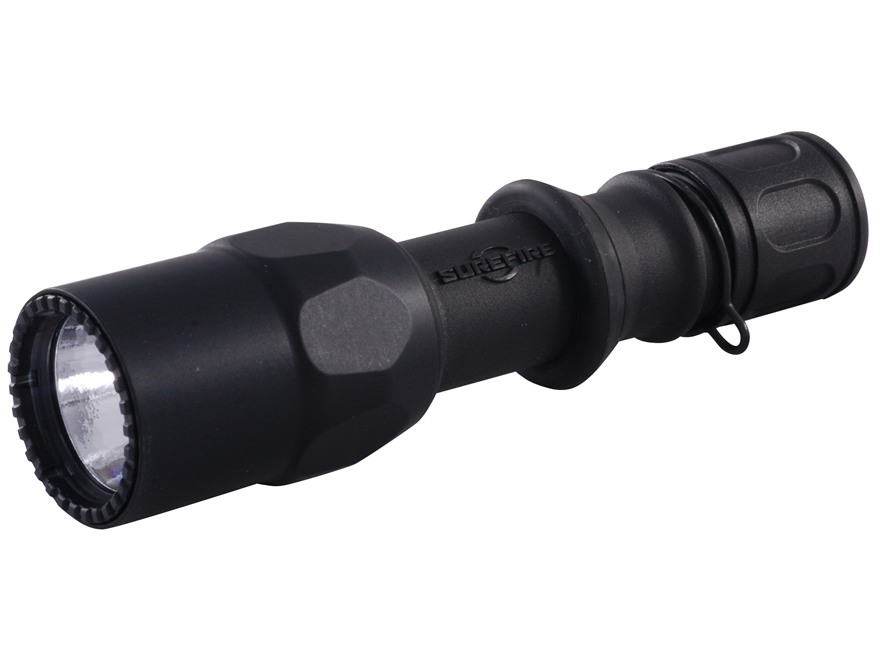 Surefire G2ZX Combat Flashlight LED Bulb Nitrolon Black