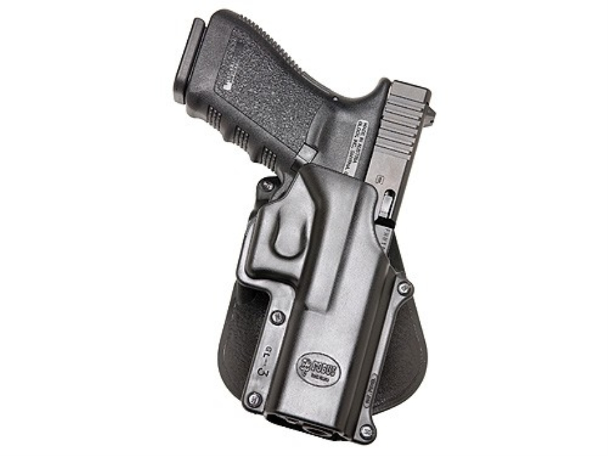Fobus Roto Paddle Holster Right Hand Glock 20, 21, 37, 38 Polymer Black