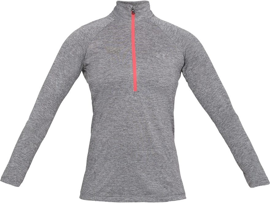 Under Armour Women's UA Tech 1/2 Zip Shirt Long Sleeve Polyester