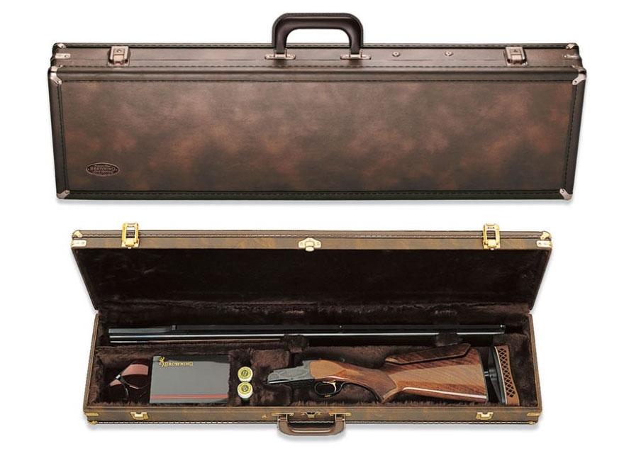 """Browning Trap Takedown Shotgun Case 34"""" Vinyl Brown"""