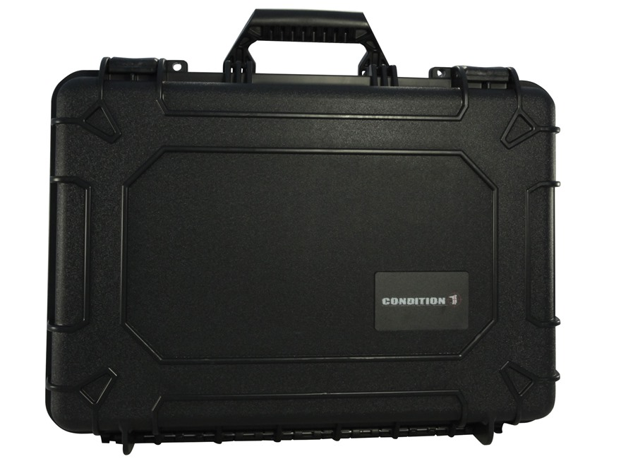 "Condition 1 10801 Hard Pistol Case 17"" Black"