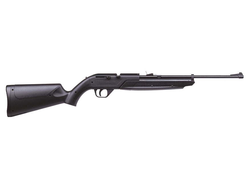 Crosman 760 Pumpmaster Pump Air Rifle 177 Caliber BB and Pellet Black Polymer Stock Mat...
